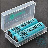 Boite accu 2 x 18650 Calumette