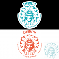 Sticker autocollant Calumette