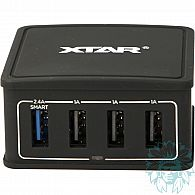 Chargeur Intelligent Xtar Light USB 4-U