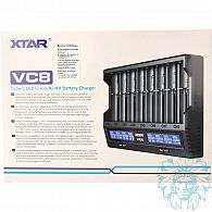 Chargeur accu Xtar Light VC8