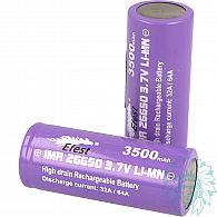 Accu Efest Purple IMR 26650 - 3500 mAh - 32 A/64A